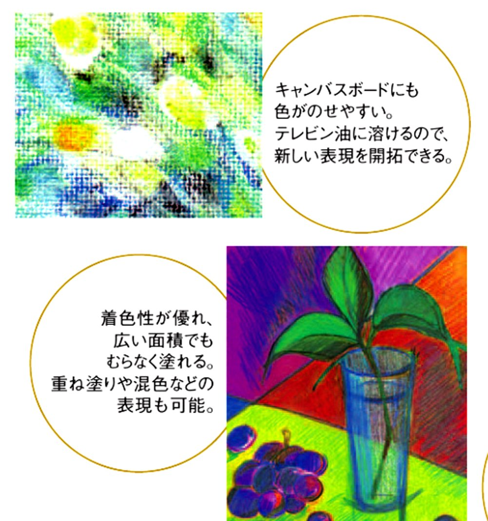 Mitsubishi Pencil Co., Ltd. colored pencil Uni colored pencil Perishia 12 colors set UCPPLC36C by Mitsubishi Pencil Co., Ltd. (Image #7)