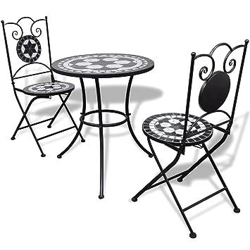 Table de Table SSITG de jardin Mosaïque mosaïque Chaise vwynm8N0O