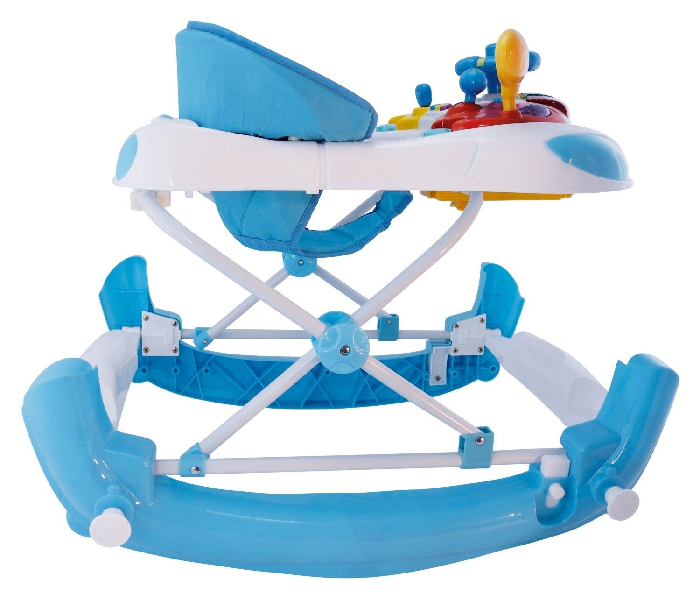 Andador infantil Bieco Activity y ayuda para aprender a andar azul ...