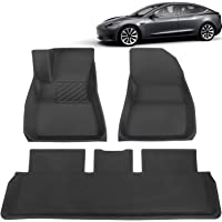 BASENOR Tesla Model 3 Floor Mat 3D Anti-Slip Liners Set