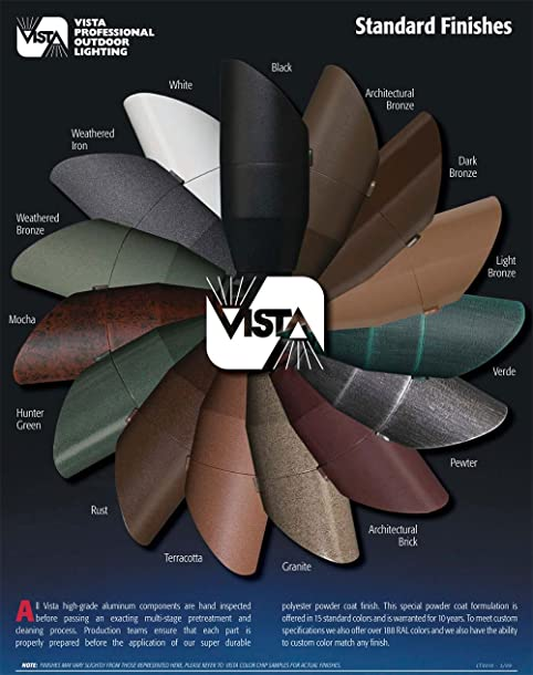 Vista Pro Up And Accent Landscape Lighting GR 2219 Black   Landscape  Spotlights   Amazon.com