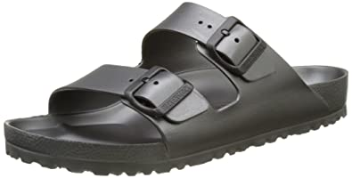 5275baf1790a Birkenstock Adults  Arizona EVA Open Toe Sandals Grey (Metallic Anthracite)  7.5 UK 41