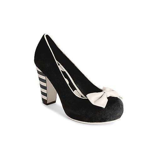 21da4ea7a7f Lola Ramona - Zapatos de Vestir para Mujer Negro Negro  Amazon.es  Zapatos  y complementos