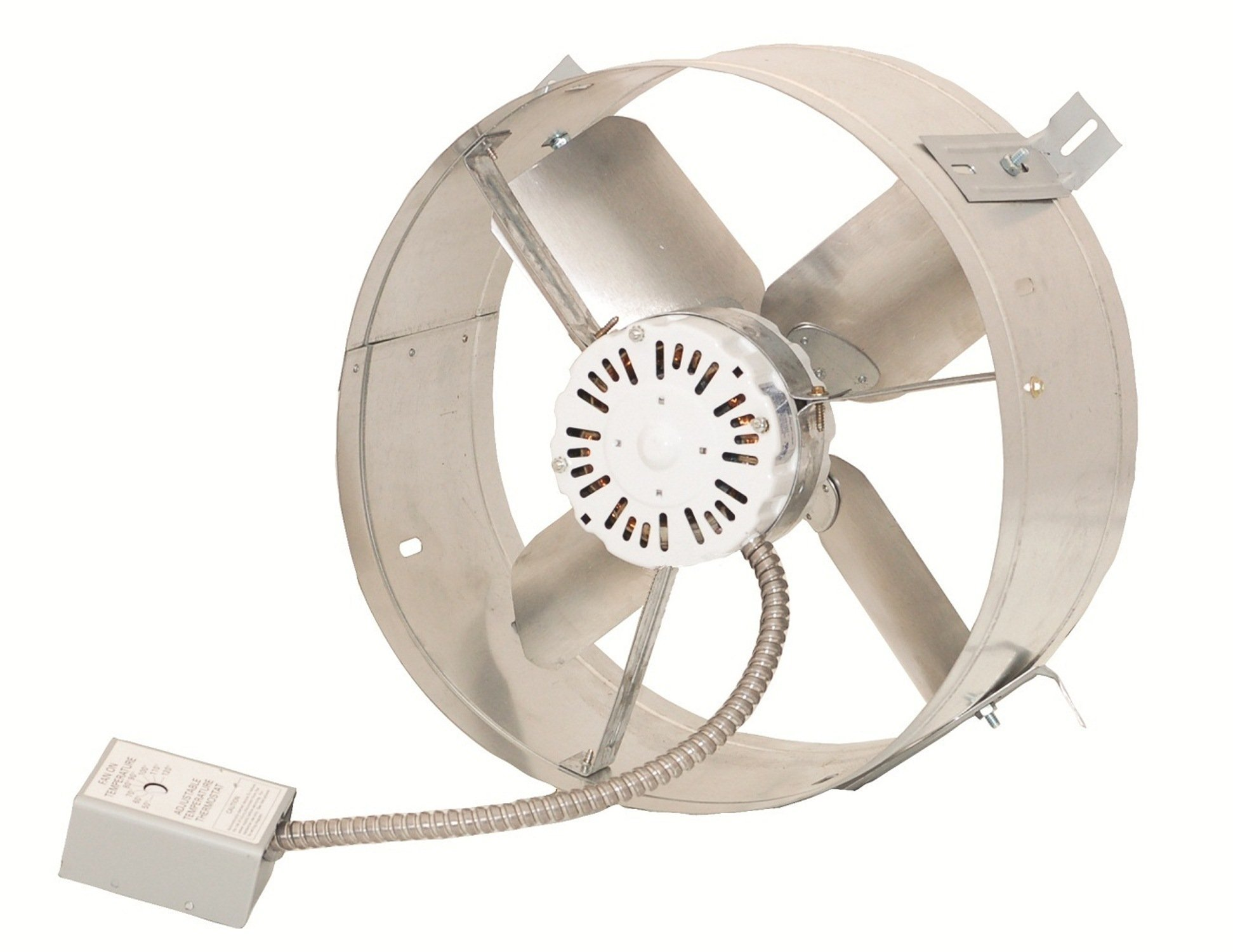 Cool Attic CX1600 Gable Mount Power Attic Ventilators with 4.5-Amp 60-Hz Motor and 14-Inch Blade