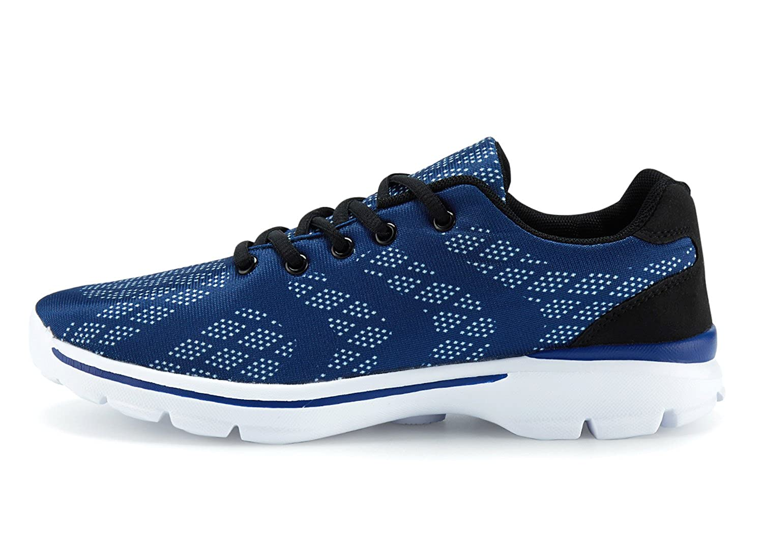 Mens Lightweight Breathable Running Tennis Sneakers Casual Walking Shoes