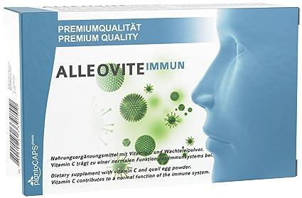 ALLEOVITE IMMUN Bloqueador de alergias| Fiebre del heno | Alergia al polen, ácaros del
