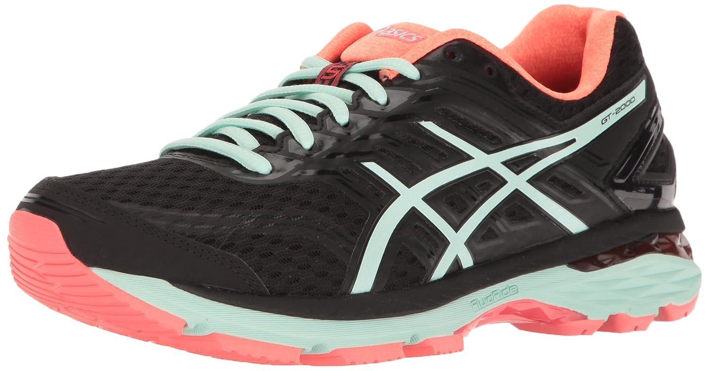ASICS Women's Gt-2000 5 Running Shoe B01GU7ACFO 10 B(M) US|Black/Bay/Diva Pink