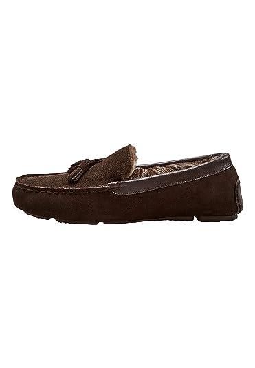 next Hombre Mocasines De Lujo con Borlas Marrón EU 47: Amazon.es: Zapatos y complementos