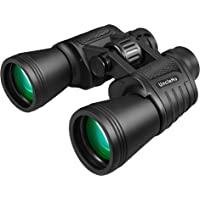 20x50 High Power Binoculars for Adults with Low Light Night Vision, Compact Waterproof Binoculars for Bird Watching…