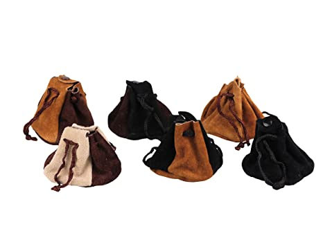 3 Bolsas de Tela marrón pequeñas sin Forro: Amazon.es: Equipaje