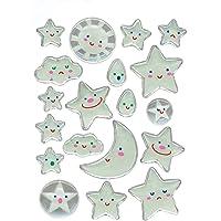 Herma 5303 Çocuk Etiketleri, Ay-Yıldız