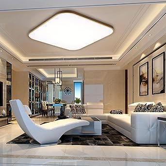 gewölbte küche deckenbeleuchtung panel floureon 2430w led deckenlampe 24 zoll deckenleuchte 2000lumen deckenbeleuchtung dimmbar mit fernbedienung 6000
