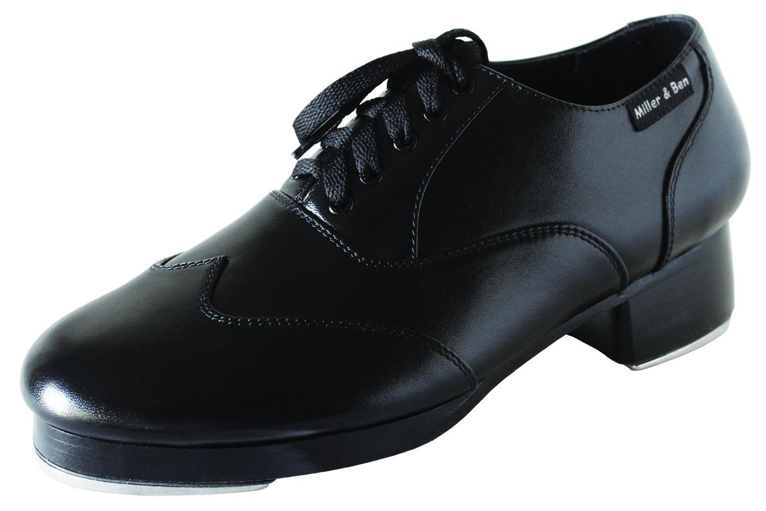 Miller & Ben Tap Shoes; Triple Threat; All Black - Standard Sizes ONLY (37 - Regular) by Miller & Ben