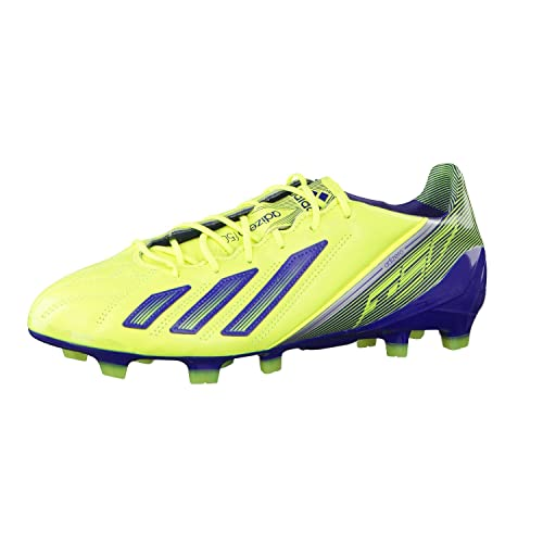 huge discount 2fbfa c20d6 F50 adiZero TRX FG K Leather Football Boots Electricity Hero Ink Metallic  Silver -