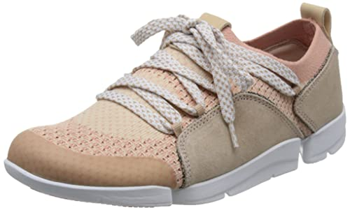 Clarks Zapatillas de Amelia Mujer Tri Amelia de de Corte bajo rosado (rosado a10e0d