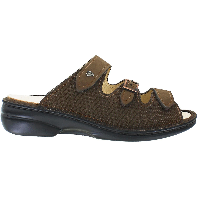 Finn Comfort Women's Anacapa-S Wood Murano/Cherokee Sandal