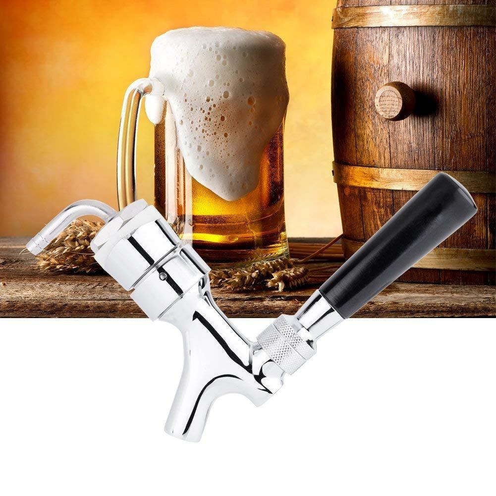 Beer Tap Faucet per bar ristoranti casa Birra Tap Faucet Draft Shank With Elbow1-2//5X3//16  Brass Tube hotel
