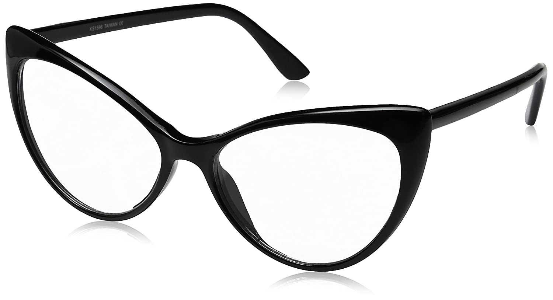 52edc03ef1 ... Super Cat Eye Glasses Vintage Inspired Mod Fashion Clear Lens Eyewear.  Wholesale Price 9.99. Plastic frame. Plastic lens. Non-Polarized