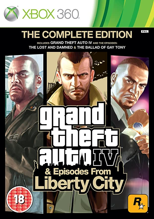 Import Anglais]Grand Theft Auto IV 4 GTA Complete Edition Game ...