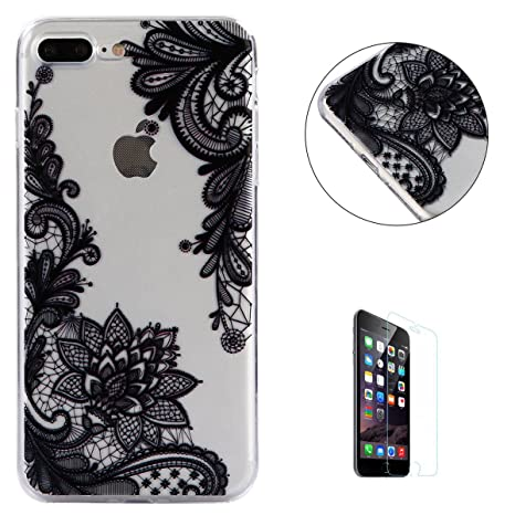 Amazon.com: iPhone 7 Plus/8 Plus funda transparente ...