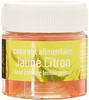les artistes paris a 0412 colorant alimentaire jaune citron - Colorant Les Artistes