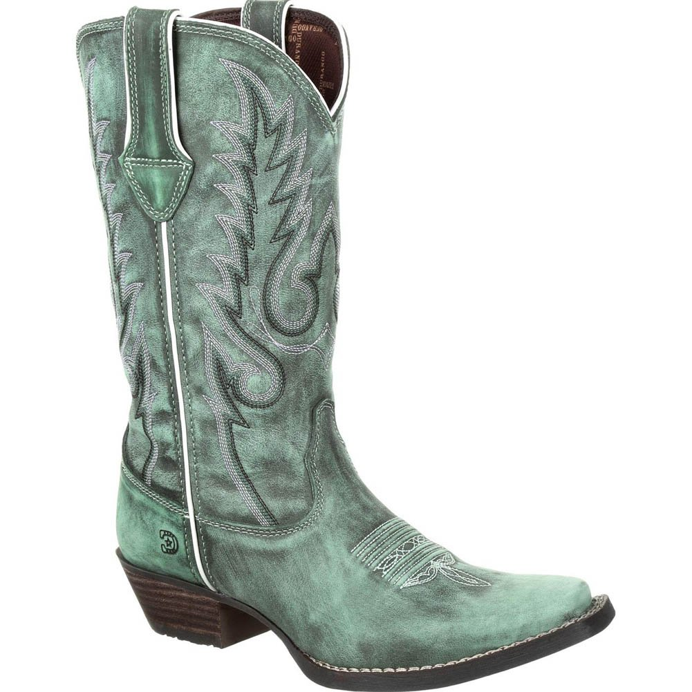 Durango Women's Dream Catcher Teal Western Boots B079R4M6S3 8 B(M) US|Gypsy Teal