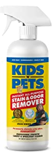 KIDS 'N' PETS Instant All-purpose Stain & Odor Remover – 27.05 oz. - (800 ml) | Proprietary Formula Permanently Eliminates Tough Stains & Odors – Even Urine Odors | Non-Toxic & Child Safe