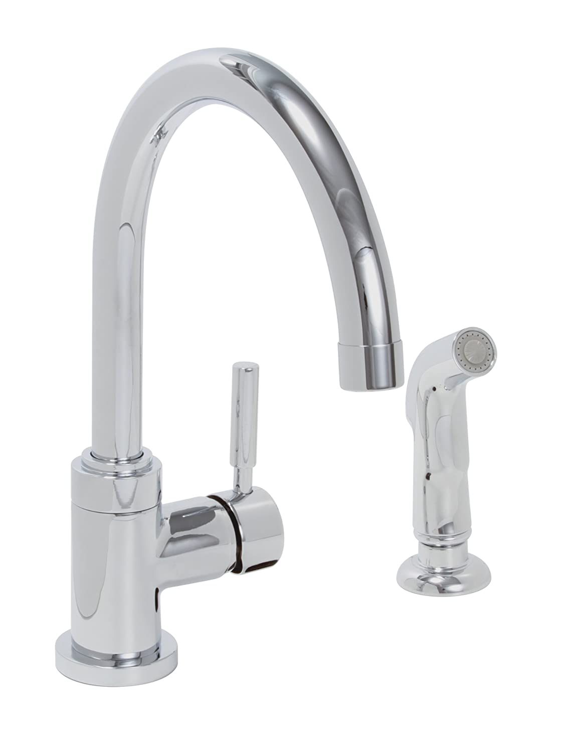 premier faucet 120098 essen lead free single handle high arc kitchen faucet pvd brushed nickel touch on kitchen sink faucets amazon com
