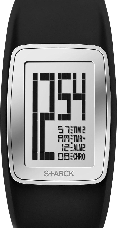 P. Starck Unisex-Armbanduhr Digital Quarz Kautschuk PH1120