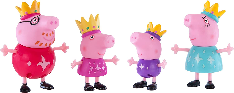 Peppa Pig Royal Family 4-Figure Pack