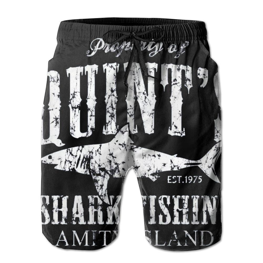 STXXKNS Quint's Shark Fishing Men Leisure Funny Pajamas