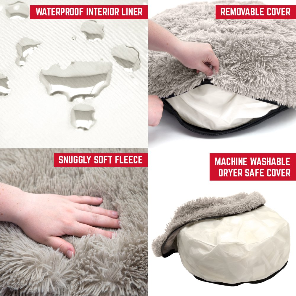 SportPet Designs Luxury Waterproof Pet Bed - Machine Washable Sofa Bed by SportPet Designs (Image #4)