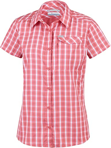 Columbia Silver Ridge 2.0 Plaid Shorts Sleeve - Camisa para Mujer. Mujer: Amazon.es: Deportes y aire libre