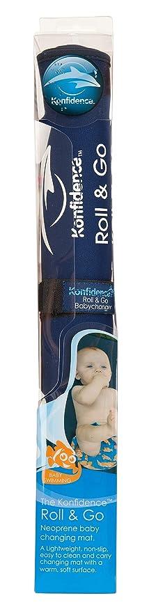 Amazon Com Konfidence Baby Roll Go Baby Changer Navy Baby