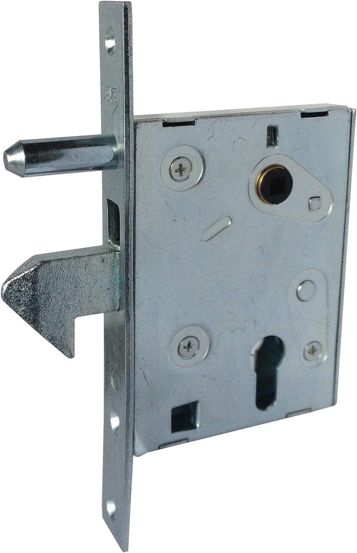 iccametal – SVS Surete – Cerradura de mentonnet para puerta corredera – A64 – Axe 60: Amazon.es: Bricolaje y herramientas