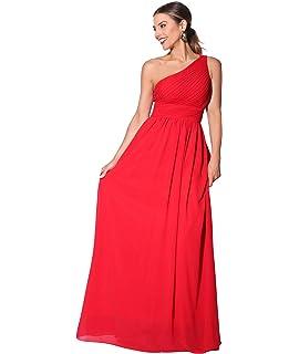 425401e36dcc Lover-Beauty Vestido Largo Mujer para Noche y Fiesta Casual Algodón ...
