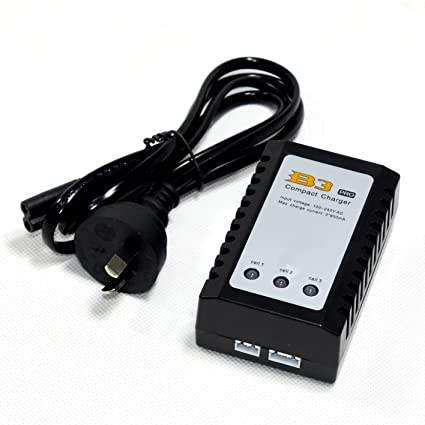 Amazon.com: B3 cargador compacto 10 W AU enchufe para 2 – 3S ...