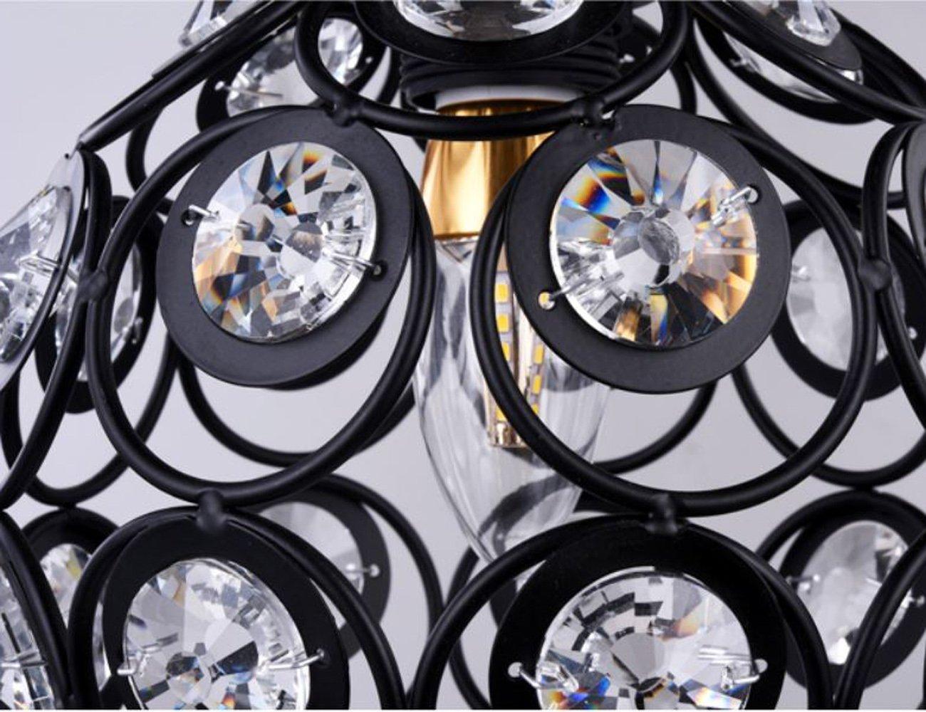 Lampadari E Plafoniere Abbinate : Dellemade lampadario con cristalli a plafoniera per scale bar
