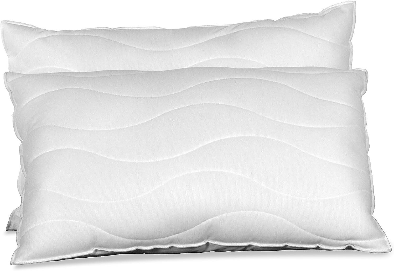 1 Memory Foam Fibre Pillow