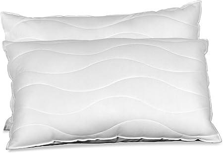 Visco Therapy 2 in 1 Memory Foam Fibre Pillow