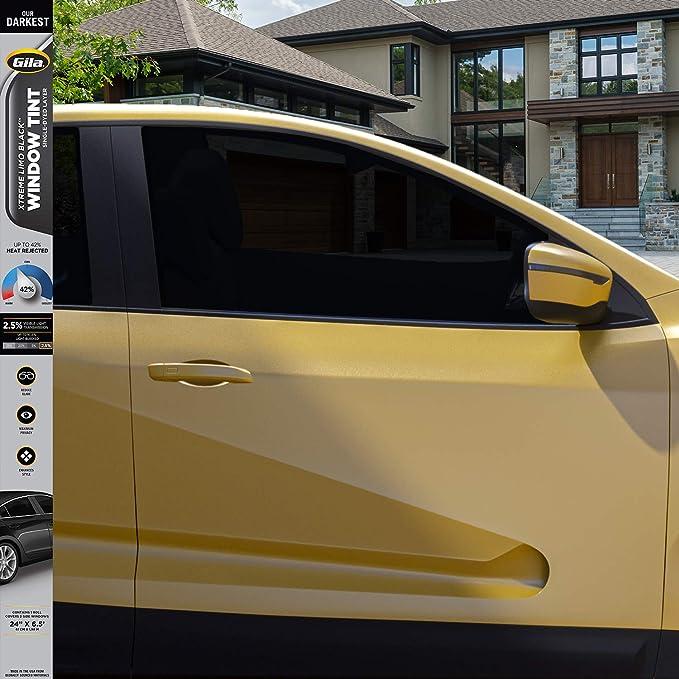 Fitting Kit 50/% 300cm x 50cm Limo Black Car Windows Tinting Film Tint Foil