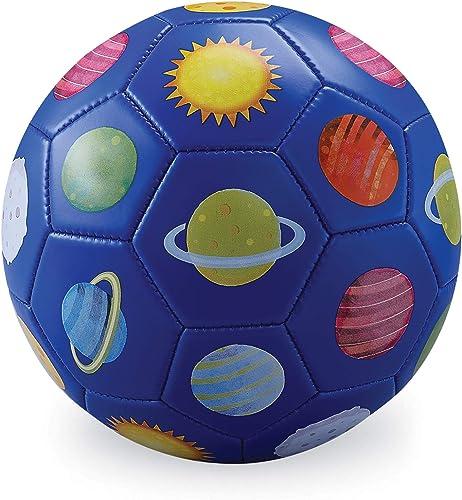 Crocodile Creek 2214-1 3 Blue Soccer Ball Solar System