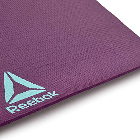 Reebok RAYG-11030HH Esterilla Yoga Hello Hi, Unisex, Morado, Talla Única