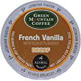 Green Mountain Coffee French Vanilla Decaf, K-Cup Portion Pack for Keurig K-Cup Brewers (Pack of 48)  Pacakaging may vary