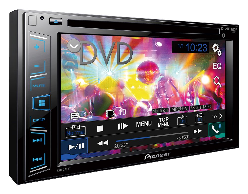 best bluetooth car stereo Pioneer avh270bt