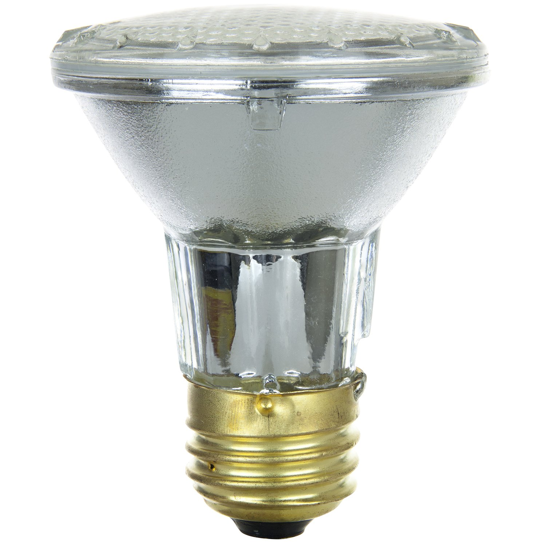Sunlite 26005 SU 39PAR20 HAL NFL 39 watt Halogen PAR20 Reflector Bulb
