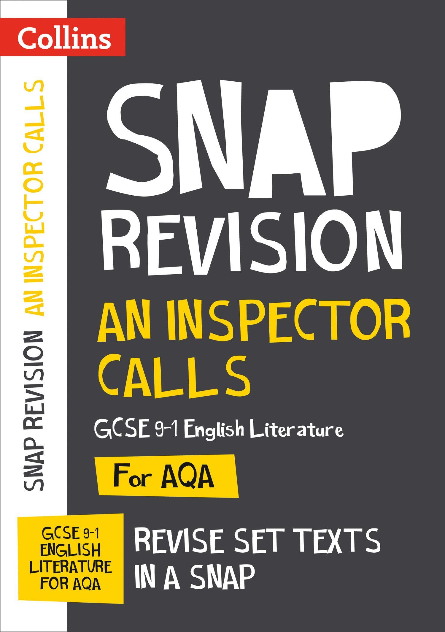 An Inspector Calls: New Grade 9-1 GCSE English Literature AQA Text Guide (Collins GCSE 9-1 Snap Revision)