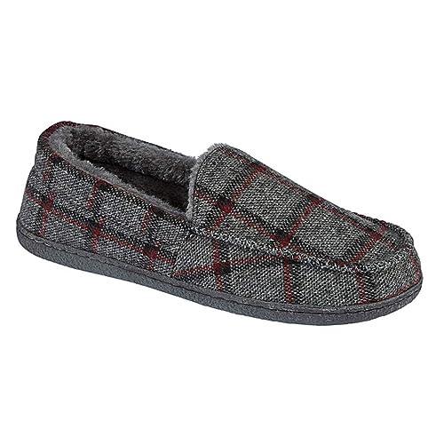 Zapatillas de casa, tipo mocasines, de hombre, New Hampshire, talla 40 a 46: Amazon.es: Zapatos y complementos
