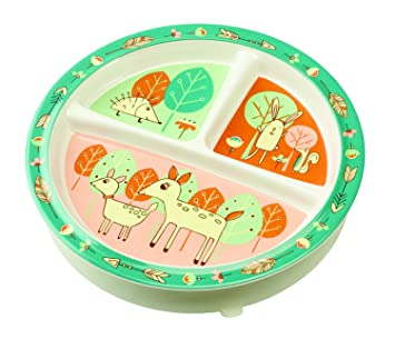 Sugarbooger Divided Suction Plate Baby Deer  sc 1 st  Amazon.com & Amazon.com : Sugarbooger Divided Suction Plate Baby Deer : Baby