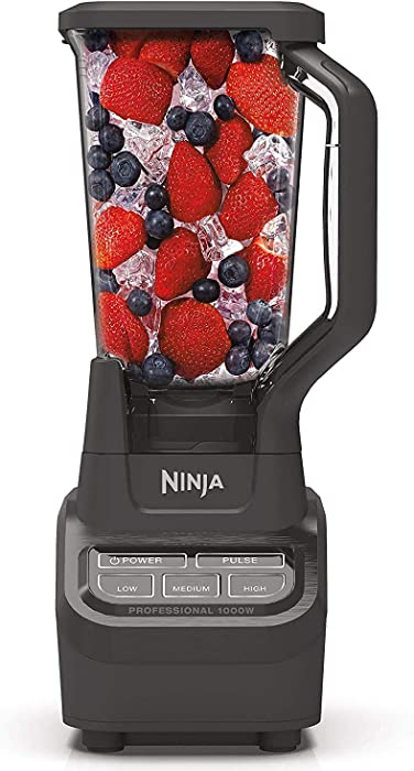 Ninja Professional BL710WM 1000 Watt Smoothie Maker Margarita Mixer Ice Crusher Food Processor Kitchen Blender